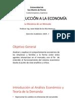La Mecánica de un Mercado - Introducción a la Economía - USMP - 2020 - VIRTUAL(1).pdf