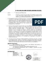 NOTA INFORMATIVA  PERDIDA DE CIP S3. RAMOS