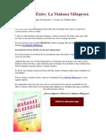 Libros-de-Éxito-La-Mañana-Milagrosa