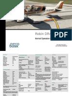 DR401 Checklist Normal Operation