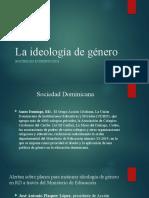La ideología de genero