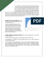 Economic Analysis of coffee industry