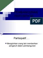Pembangunan partisipatif