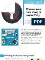 Uncover your own vision of productivity