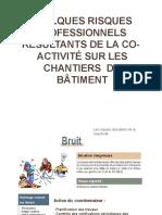 QUELQUES RISQUES  PROFESSIONNELS  RÉSULTANTS DE LA CO-  ACTIVITÉ.pptx