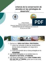 """""""La importancia de la conservación de áreas naturales en las estrategias de desarrollo"""""""