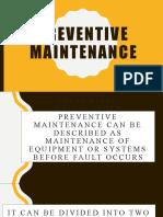 chapter 5_Preventive maintenance