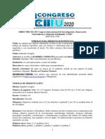 DIRECTRICES III Congreso de Investigación