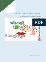 CARTILLA SENSORIAL