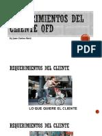 REQUERIMIENTOS DEL CLIENTE QFD
