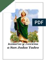 Rosario  y Novenario a San Judas Tadeo 2019
