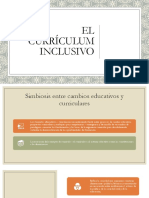 PPT 2.0 El curriculum inclusivo