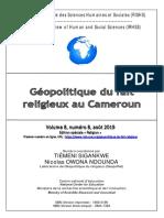 Géopolitique du fait religieux au Cameroun