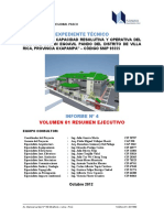 Carátula del Informe Nº 4 expediente técnico