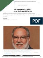 Desembargador aposentado Sylvio Capanema morre de Covid-19 no Rio _ Rio de Janeiro _ G1