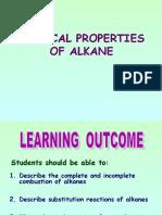CHEM PROPOF ALKANE