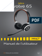 Jabra Evolve 65 Manual RevE_FRCA