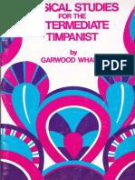Garwood Whaleyintermediate timpanist