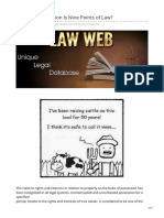 lawweb.in-Whether Possession Is Nine Points of Law
