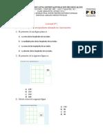 Actividad de perimetro y área de figuras planas