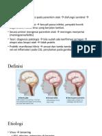 kognitif ensefalitis
