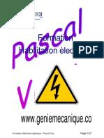 Cour Hablitation Electrique