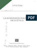 La suspensión política de la ética by Slavoj Zizek Marcos Mayer