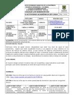 TALLER CASTELLANO SEMANA 2 Y 3