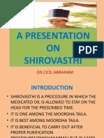 A PRESENTATION ON SHIROVASTHI.pptx