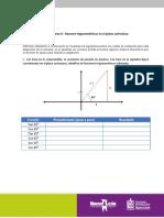 Tarea 9.- Razones trigonométricas en el plano cartesiano