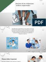 Regulaciones de las evaluaciones medicas ocupacionales
