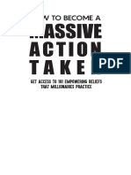 How to be a massive Action take(1)