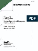 Shuttle Flight Operations Manual Vol 12 Crew Systems
