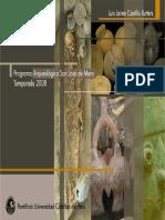5.4 SAN JOSÉ DE MORO - (Luis Jaime Castillo, 2009, PUCP) Programa Arqueológico San José de Moro. Temporada 2008.pdf