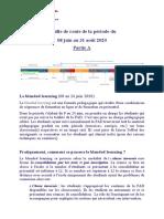 Feuille de route du 08 Juin au 31 Aout 2020 (1)