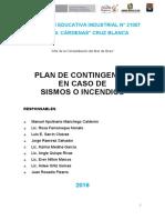plan de contingencia sarrin