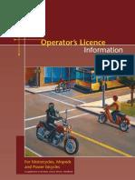 Motorcycle Handbook 2010