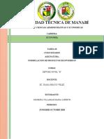 TAREA PROYECTO DE INVERSION