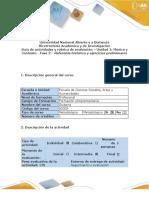 02. Guía de actividades y rubrica de evaluación - Fase 2 - Referente histórico y ejercicios preliminares