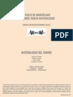 LECTURA EXPANDIDA DE  VUELO DE MURCIELAGO