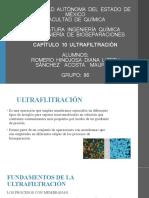 Cap 10 Ultrafiltración grupo 86 Romero Diana y Sánchez Mauricio..pptx