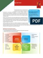 MindTree SAP Testing Services Brochure