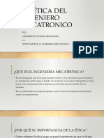 LA ÉTICA DEL INGENIERO MECATRONICO