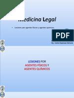 UPLA MEDICINA LEGAL Semana 05 lesiones quimicas y fisicas