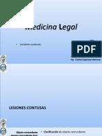 Semana 03 UPLA MEDICINA LEGAL lesiones contusas
