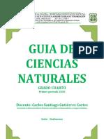 GUIA DE CIENCIAS NATURALES 2020
