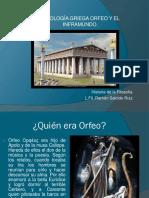 Orfeo y el inframundo (Lic. Filosofía Ramón Salcido).