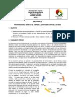 Guía 2. Transformaciones del Cu y ley de Conservacionde la Masa