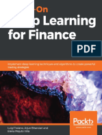 Troiano L. Hands-On Deep Learning for Finance 2020