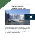 PLAN DE CLASES Geografía Argentina 3er año